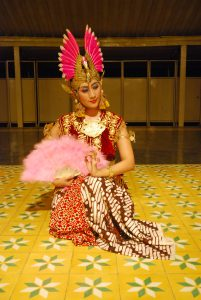Traditional  Javanese dancers… performing at the NGA, May 18.