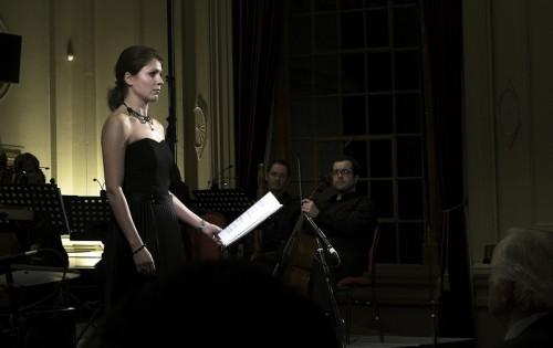Dutch soprano Simone Riksman