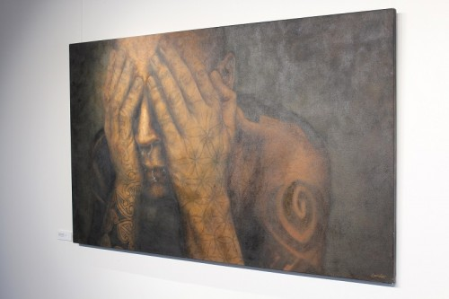 Winner of the 2010 Award, Hayley Lander, 'Under the Skin', oil on canvas