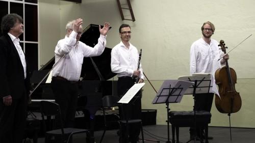 Bernt Lysell, Erik Wahlgren, Bengt Forsberg, Craig Hill, photo Judith Crispin