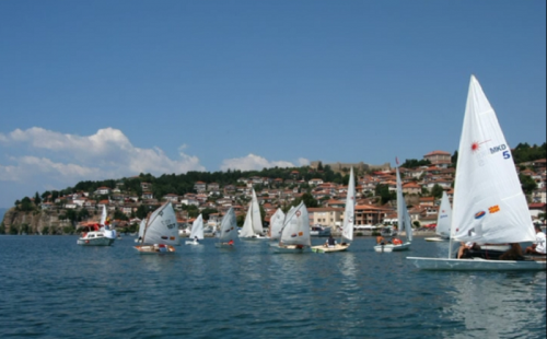 Ohrid in summer