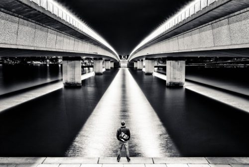 """Andrew 2013"" - bridge at night"