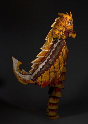 © Natalia Goncharova, Costume for a seahorse c 1916 from Sadko, NGA, purchased 1995