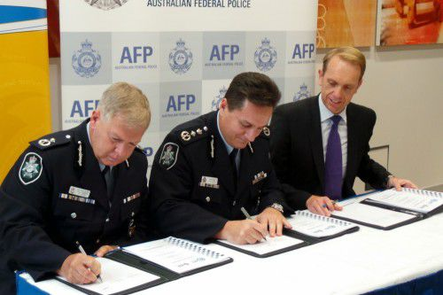 policing agreement signing