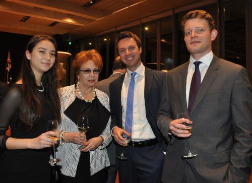 Adelaide Petrov, Larissa Ionina Alex Kuznetsov and Igot Chibisov