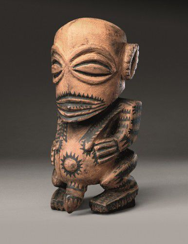 Fisherman's god, or 'Oramatua' Rarotonga, Cook Islands, central Polynesia late 18th – early 19th century wood,  British Museum, London © The Trustees of the British Museum. All rights reserved.
