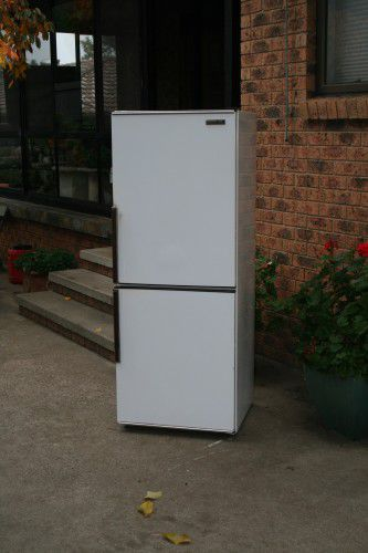 Fridge removal photo