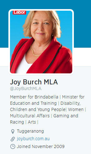 Joy Burch MLA (JoyBurchMLA) on Twitter - Google Chrome 10062014 104835 AM