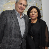 Juan Davila and Nancy Severs