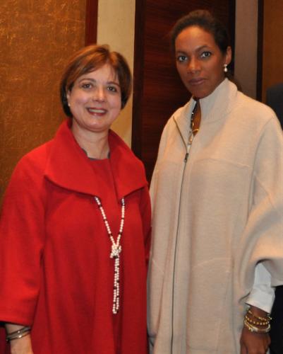 Maria Teresa Cisneros de Davila and Ibelise Escobar