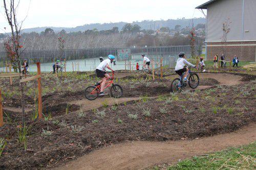 Melrose bike track