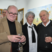Peter Haynes, Meg Buchanan  and Michael   Le Grand