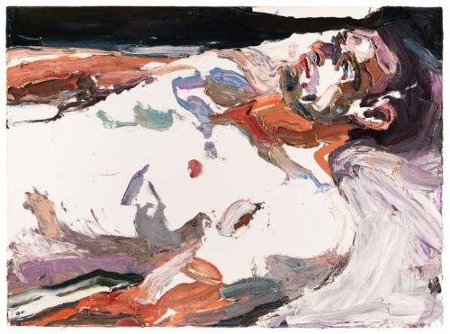 Ben Quilty, Captain S, after Afghanistan, 2012, oil on linen, 140 x 190cm. Australian War Memorial collection