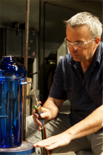 "Artist Scott Chaseling… ""We live in the most amazing glass community."""