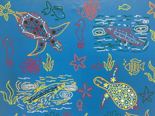 David Ford - Goanna, Turtle &  Fish