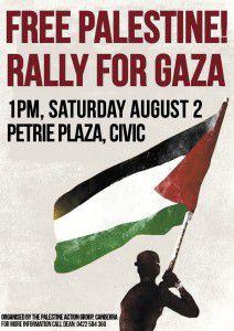rally poster