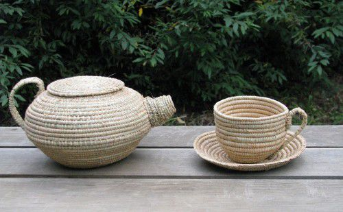 Regional Weave- 'Cuppa Time,' Alana Garwood Huong, 2014