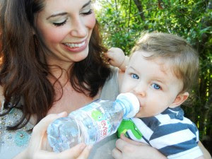 "Refresh-a-Baby... ""a space-saving tool that allows parents to leave the baby bottles at home""."