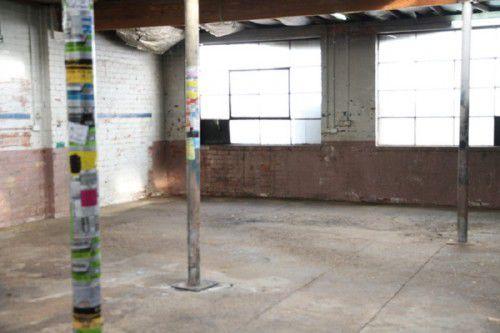 The Chop Shop venue: before