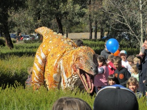 Geoscience Australia Open Day - Copyright J Lehane