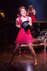 "Verity Hunt Ballard in ""Sweet Charity""... During the tight three weeks' rehearsal, she ""got in and dug deep"". Photo by Kurt Sneddon"