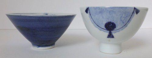 Ryozo Shibata, Tea Bowl 1 and 2
