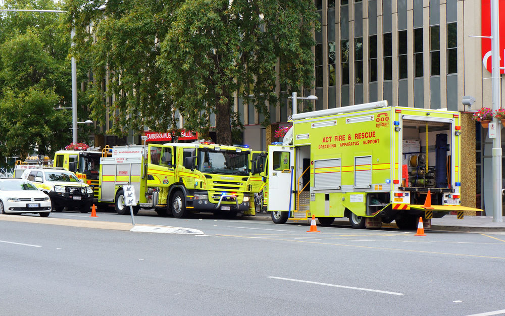 Canberra emergency services