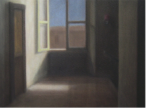 Peter Boggs, 'Sunlight in the hallway'