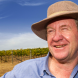 Winemaker and developer Graeme Shaw… developing a sort of rural version of a sea change. Photo by Rod Henshaw