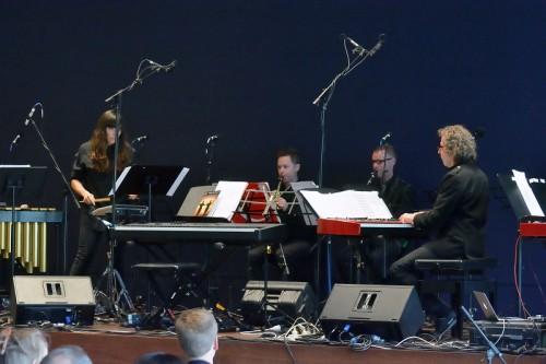 Bree van Reyk, Jason Noble, Jim Nightingale and Alister Spence
