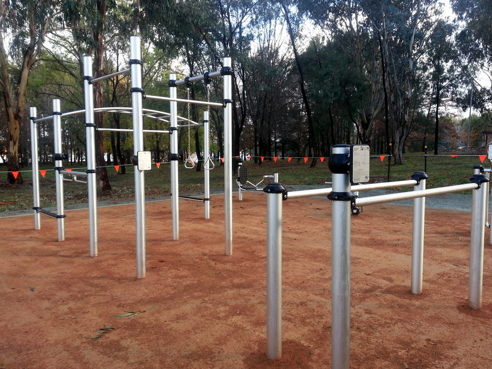 Outdoor Fitness Equipment : It s not a playground outdoor fitness equipment