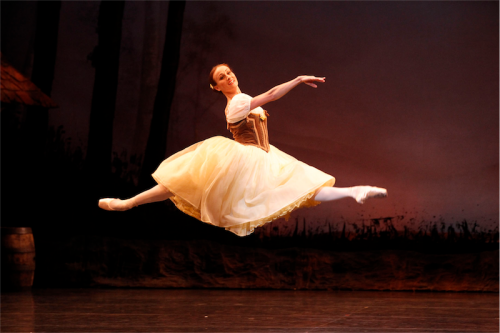Ballerina Madeleine Eastoe in the title role of Giselle. Photo by Dan Boud