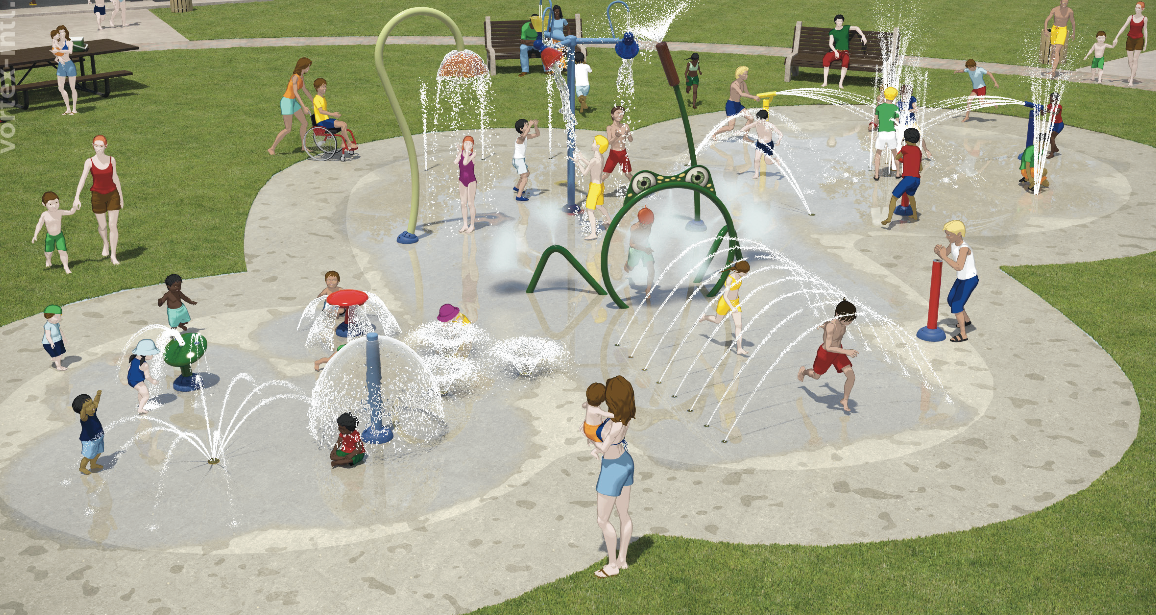Votes In On Water Play Park Design Canberra Citynews
