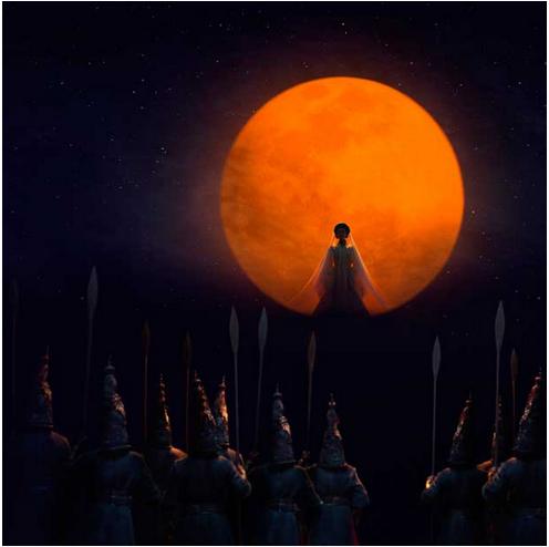 Turandot appears