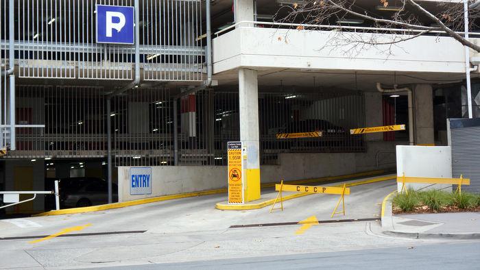 canberra centre parking
