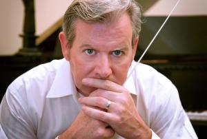 Geoff Grey... conductor turned MC.