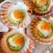 The seared scallops with truffled pea purée by Mimosa Wines in Bermagui. Photo by Stefan Posthuma-Grbic