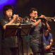 Natsuki Tamura trumpet, Christian Pruvost, trumpet, Peter Orins drums