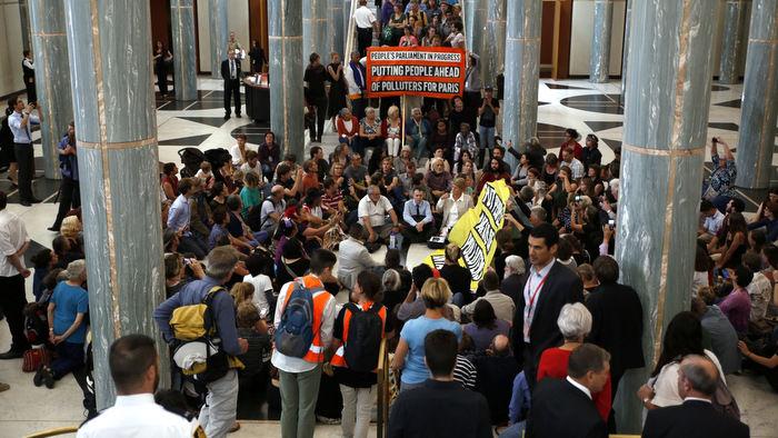 occupy parliament