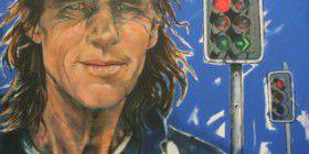 "Barbara van der Linden's portrait of 'Scrubbie' in ""Faces of Canberra,"" 2013"