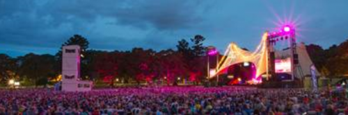 The  crowd at Opera in the Domain