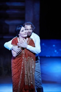 Ekaterina Siurina (Léïla) and Pavol Breslik (Nadir) Photo credit: Keith Saunders