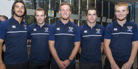 Brandon Lagana, Lachie Harper, Stephen Camp, Jordan Harper and Mitch Rainbird