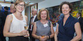 Ilea Buffier, Kristine Riethmiller and Kirsten Livermore