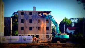 dickson flats demolition