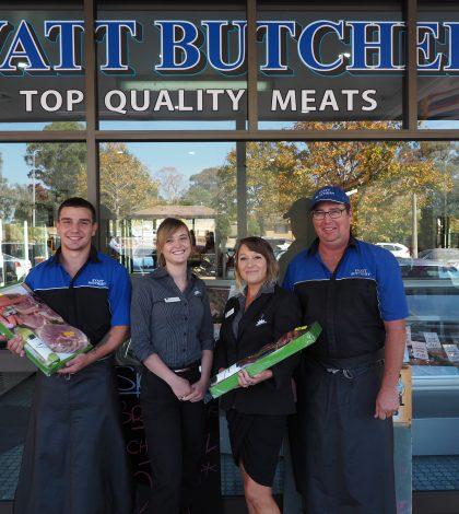 Evatt butchery crew… held together by club revenue.