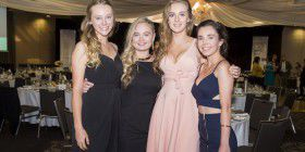 Ella Swift, Lottie Twyford, Catherine Wood and Kelsey Morgan