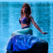 Mikayla Williams as the Little Mermaid. Photo by Andrew Campbell