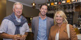 Roger Tall, Chris Kimball and Melita Flynn