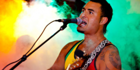 Matiu Te Huki... the Maori-Italian singer coming to the Perisher Peak Festival.